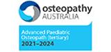Osteopathy Australia Advanced Paediatric Osteopath